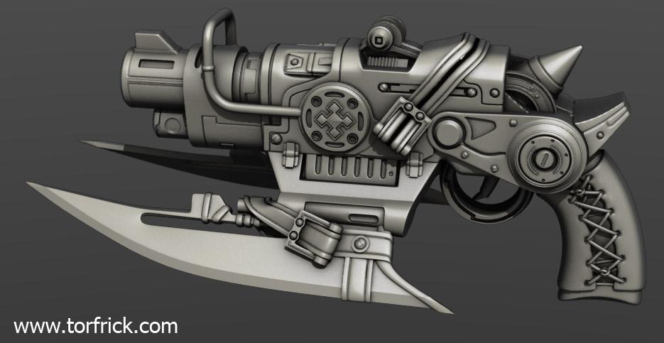 Gears Of War Fanart Gun Polycount